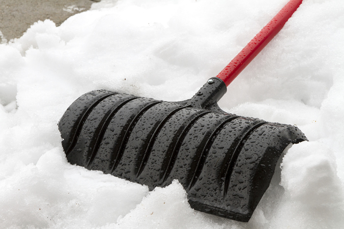 Snow removal services provided by Huskie'z Landscaping