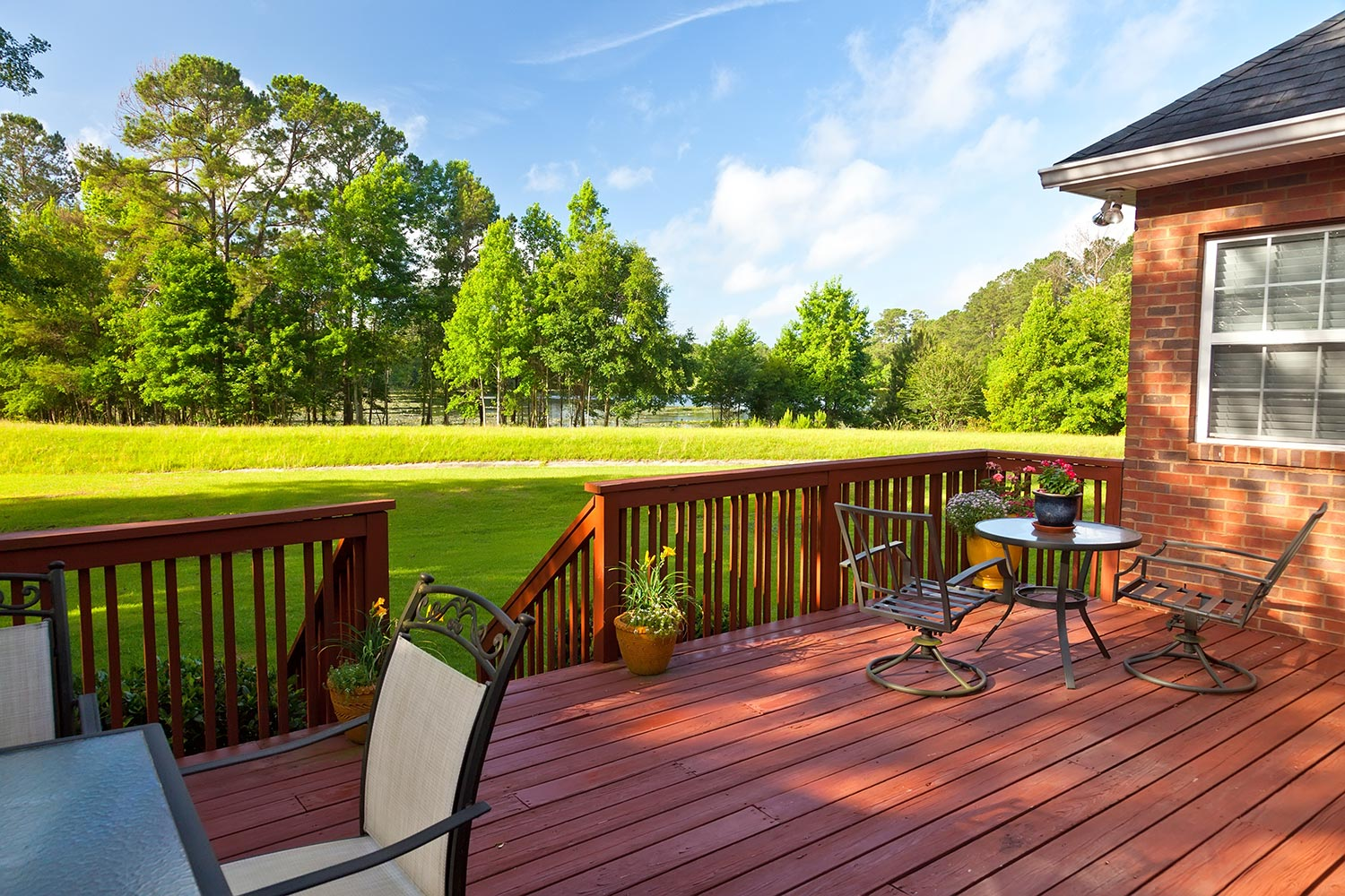 why you need a deck and outdoor living space this summer huskie
